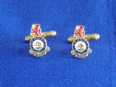 DUKE OF WELLINGTON'S WEST RIDING REGIMENT CUFF LINK